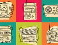 Radio Hand Drawings