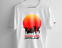 "Guano Apes ""Offline' - Design for Official T-Shirt"