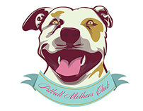 Pitbull Mothers Club Shirt Design