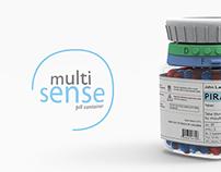 Multi Sense - Pill Container