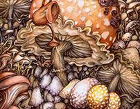 'The Mushroom Garden'