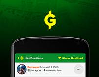 Grinback App