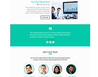 Clean & Professional E-mail Template PSD