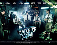GANGSTER SQUAD -  KEY ART MOVIE POSTER