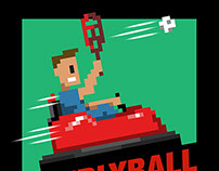 Tallgrass Brewing Whirlyball Event Identity