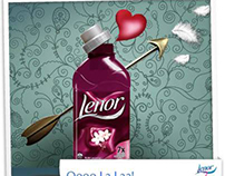 Lenor UK Visual Guidelines for Social Media