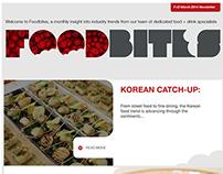 Foodbites newsletter