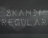 Skandi - Free Typeface