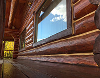 Grand Lake Log Home Restoration Project