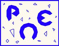 Pentakis Font