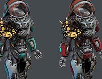 Starcraft Infested Medic (fanart)