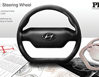Ergonomic Steering Wheel