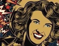 Poster Wanda Jackson - CH
