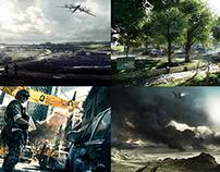 Battlefield 3 Concept Art