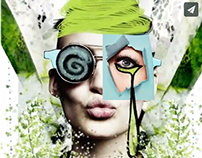 Green mood | Spring 2014 | Motion fashion graphic