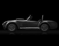 Cobra 427: 3D Model and Render