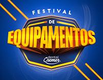 Campanha Promocional Varejo - Festival de Equipamentos