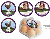 Bliss Falls Farm: Organic Egg Label
