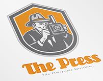 The Press Film Photography Logo