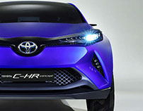 Toyota C-HR Concept Paris Motorshow 2014