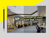 Charte graphique / rapport de stage