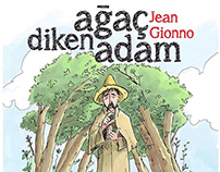 Jean Giono -Childrenbooksillustations