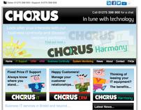 Chorus IT Website Redesign