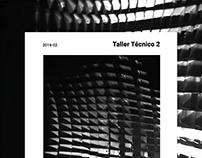 CB_TALLER TÉCNICO2_ESTRUCTURAS NO CONVENCIONALES_201620