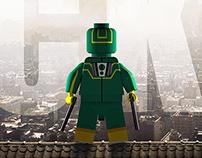 3D Legofied: Kick-ass