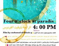 Four O'clock at paradise