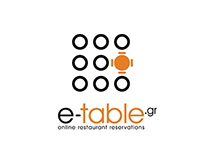 E-Table - Winner - Logo Design Contest