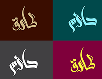 Tarek & Hazem 3D Typography