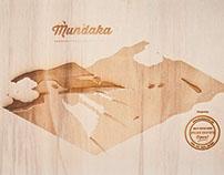 Isometric illustration in Wood: MUNDAKA