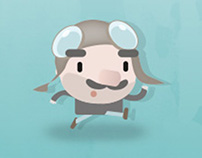 Roger Delta - Character Design