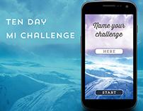 10 Day MI Challenge