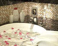 Classic Master Bath room