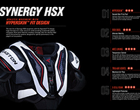 Easton Synergy HSX Hockey Protective Line