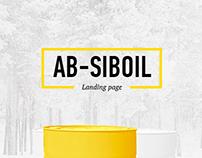 Landing Page AB-Sib Oil