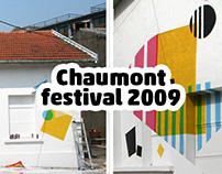 fresque festival Chaumont 2009