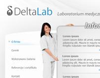 DeltaLab - web design