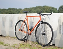 Fixed Gear - 2014 Orange and Black