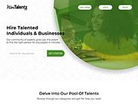 Hire Talentz UI
