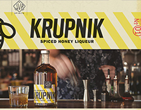 jvr spirits krupnik packaging + branding