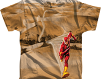 FLASH desert tee.