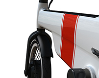 Compact electric bike