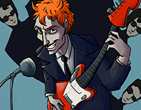 Oingo Boingo and The Ghastly Ones gig posters