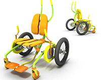 Silla para niño discapacitado