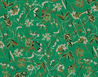 Botanical Textile Design
