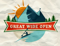 Great Wide Open Logo Design