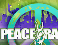 Peace Rally | at Franklin Park Conservatory [Flyer]